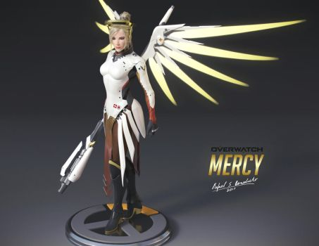 Overwatch - MERCY (3) by SgtHK