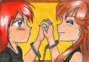 family ties :ACEO: by JunAkera