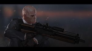 Hitman fan art by SilviuSadoschi