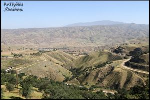 Tehachapi Pass overlook by DragonWolfACe