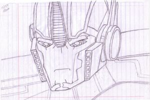 Optimus by AlannaCR08