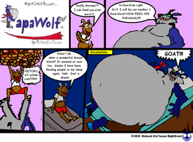 Papawolf comic 24 by NightCrestComics