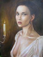 Brown Eyed Girl and Candle rew by dashinvaine