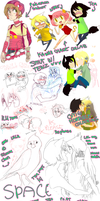 BADLY SPACED PCHAT DUMP by EliciaElric