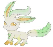Leafeon by Chimihara45