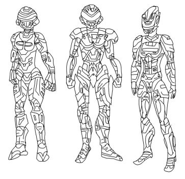 VR Troopers Kaitlin Movie Idea 1 - pick 1 by LavenderRanger