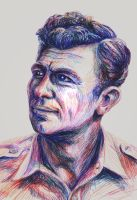 Andy Griffith by jbrenthill