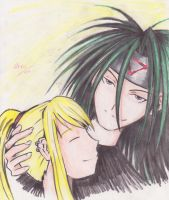 Envy x Winry by ShiroiKame