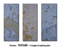 - TEXTURE - old paint peeling by Von-Chan