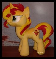 18,5 inches Sunset Shimmer by MLPT-fan