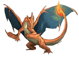 Charizard Y by tashcrow