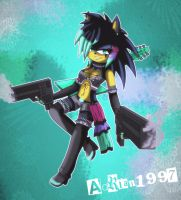 .:Gift:. Daja the hedgie by adrian1997