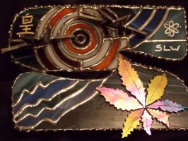 Sabby's  CUSTOM Stained Glass Box (Letter 'S')3 by whsprluv69