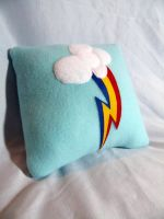 RainbowDash Pillow Version 2 by CynicalSniper