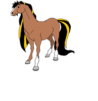 Barbaro--Horseland OC by NascarhorsesBoltfan