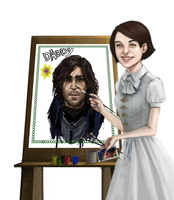 Corvo, I have redrawn you by Leon9606