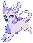 Cervidell Chibi By Foxlett by AliceDaRabbit
