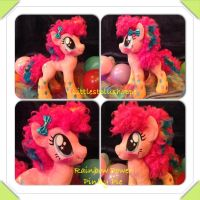 Rainbow power pinkie pie is complete by Littlestplushoppe