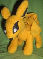 Kyuubi Plushie by Sparrow-dream