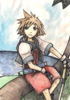 Sora on the island 01 by Ayayou