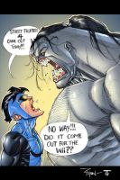 Invincible and The Pitt by juan7fernandez