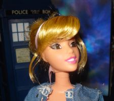Billie Piper Rose Tyler Doll by catlara