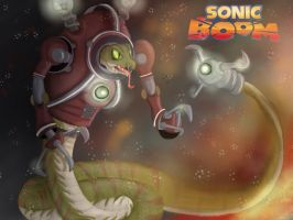 Lyric : sonic boom by sonamycomic