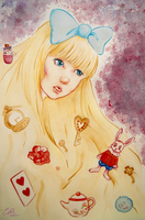Alice in Wonderland by CaramelBoucle