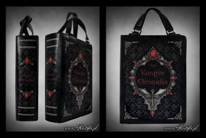 The Vampire Chronicles Book Bag by Euflonica