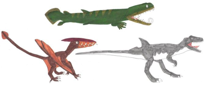 Some own Primeval Concepts by RickRaptor105