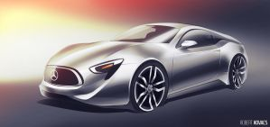 Mercedes Coupe Concept #02 by roobi