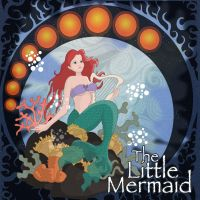 The Little Mermaid Movie Poster by Alcalambra
