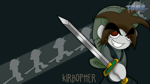 TOME - Kirbopher Wallpaper by Kirbopher15