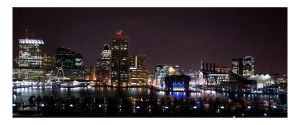 baltimore at night by bamfrussian
