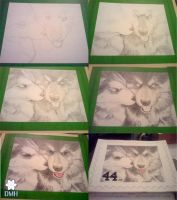 Puppy Love .:stamp:. - WIPs by strryeyedreamr27