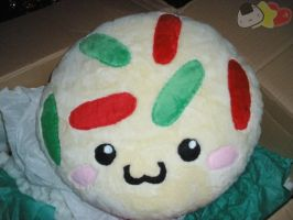 Christmas Cookie Pillow by LiLMoon