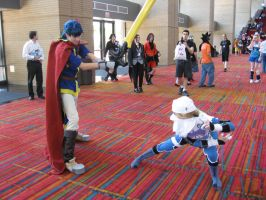 Ike vs Sheik, FIGHT by DragonShinobi555