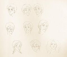 HP: Faces and moar faces by zulenha