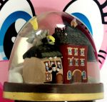DERPY Snowglobe custom sculpture 4 sale by MadPonyScientist