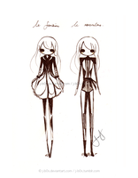 Fashion Design - Line 1 by j-b0x