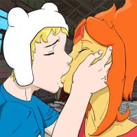 Finn and Flame Princess Kiss by Kordekai