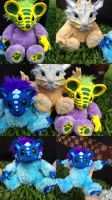 Teddy Monsters  SOLD by SonsationalCreations