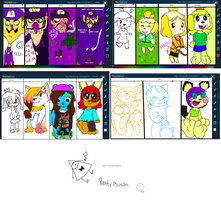 Drawing Session 10-19-14 Part 2 by ACPawz