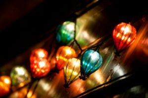 String Of Lights by LDFranklin