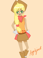 My Little Pony: Applejack (human) by se-rah