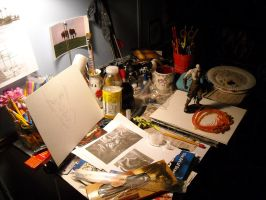 Where The Art Is Made by Audrey-Taft