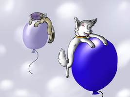Yay Ballons OuO :R: by Ask2pFeli