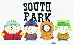 South Park guys by xCookie93
