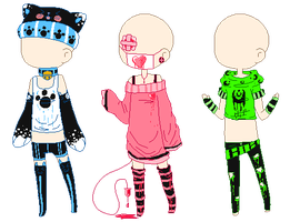 Clothing Adopts #1 (CLOSED) by Boybites