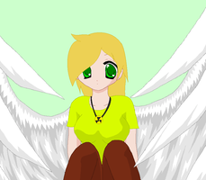 ~..Here is light if she was in anima..~ by xlightbluesnowflakex